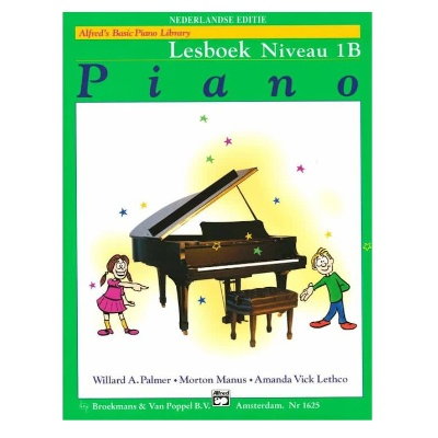 Alfreds Music Publishing Basic Piano Library 1b lesboek