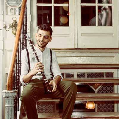 Major7 Ghaeth Almaghoot Klarinetles Midden-Oosterse Muziek