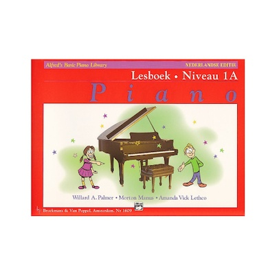 Alfred's Basic Piano Library 1a lesboek