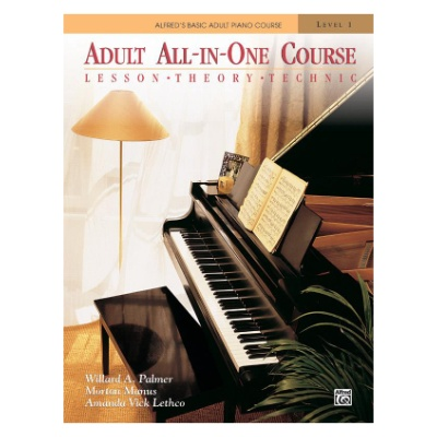 Alfred's Basic Adult All In One Course 1