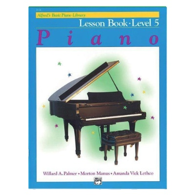 Alfred's Basic Piano Library Lesboek 5