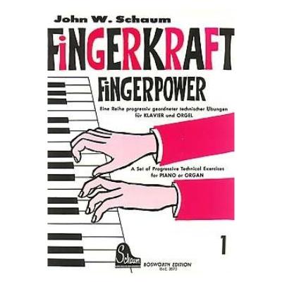 Fingerkraft Heft 1 (Fingerpower Book 1)