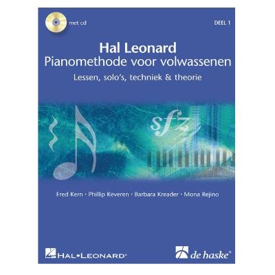 Hal Leonard Pianomethode voor Volwassenen 1