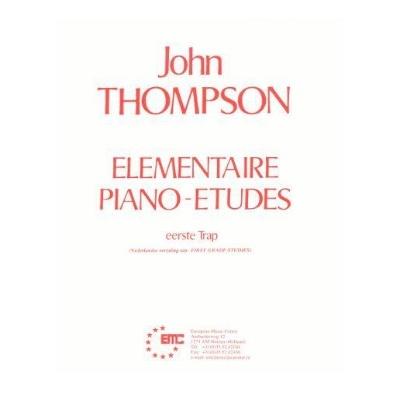 John Thompson Elementaire Etudes eerste trap