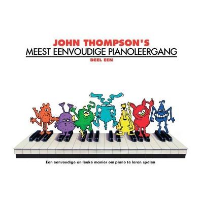 John Thompson's Meest Eenvoudige Pianoleergang 1