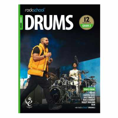 Rockschool Drums Grade 2 (2018)