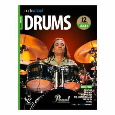 Rockschool Drums Grade 3 (2018)