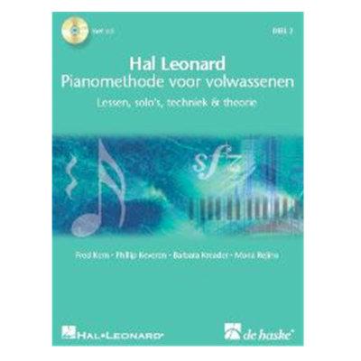 Hal Leonard pianomethode voor volwassenen 2